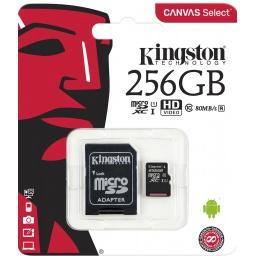 Micro Sd Kingston 256 Gb C10