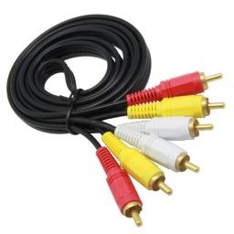 Cable 3 Rca A 3 Rca Audio Y Video 1.5 Metros