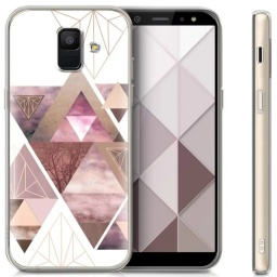 Protector Clear Anti-shock Case Para Samsung A6 Plus