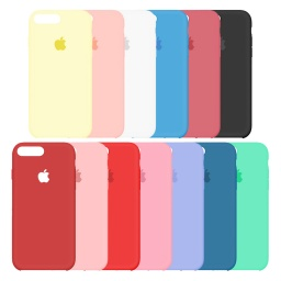 Silicona Simil Original iPhone 6 / 7 / 7 Plus / 8 Plus