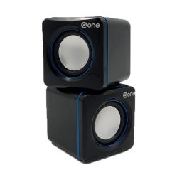 Parlante 2.0 Pc Cube Ev 201