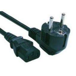 Cable De Poder / Cable De Fuente Schuko 1 Metro