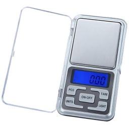 Balanza Digital De Precision De Bolsillo 0,1 A 500 Gramos