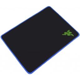 Mouse Pad Gamer Tipo Razer Negro Borde Azul O Verde