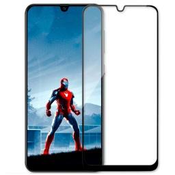 Vidrio Templado Full Cover Samsung A50s Colocado