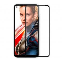 Vidrio Templado Full Cover Samsung A11 Colocado