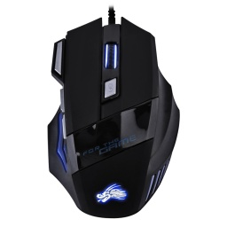 Mouse Gamer X7 2400 Dpi Cable Acordonado Usb
