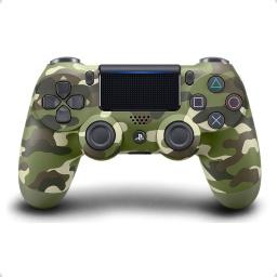 Control Ps4 Playstation Orginal Camuflaje Verde