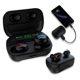 Auriculares Q82 Bluetooth V5.0 Pantalla Digital Stereo