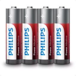 Pilas Alkalina Philips Aaa  (4 Uni) Lr03p4b/97