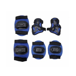 Set De Protección 2 Rodilleras 2 Coderas Y 2 Muñequeras