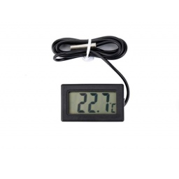Termómetro Digital Con Sensor Por Cable A Distancia