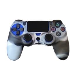Funda Silicona Joystick Play 4 Camuflado Ps4