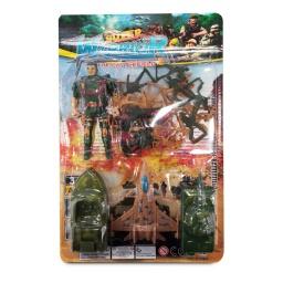 Jugetes De Guerra Super Warrior The Battlefield