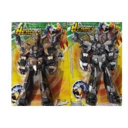 Muñeco SuperPowerHeroes estilo Mecha/Robot