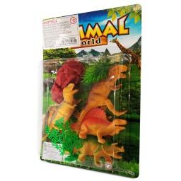 Set Dinosaurios De Juguetes AnimalWorld