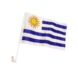 Banderín para Auto Uruguay 30x45 CM