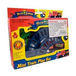 Tren a Pila con Vías Mini