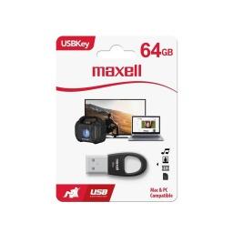 Pendrive Maxell 64gb Usb Key Negro