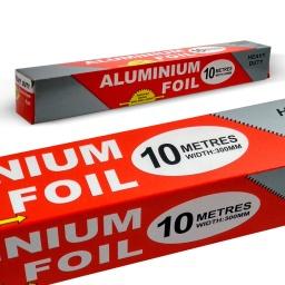 Papel de Aluminio 30 CM X 10 M