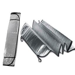 Parasol Plateado De Auto Parabrisa Vidrio Delantero