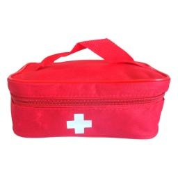 Botiquín De Tela Primeros Auxilios Curaciones Rojo