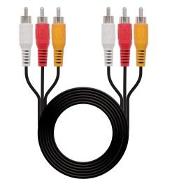 Cable 3 Rca A 3 Rca Audio Y Video 3 Metros