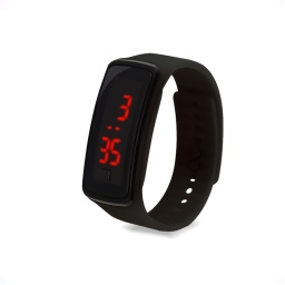 Reloj Led Deportivo Digital Negro